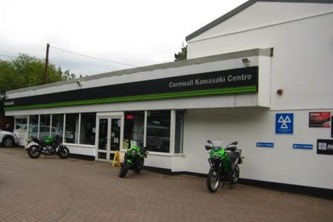 Garage for sale - Kawasaki Motorcycle Dealership Located In Lanner, Cornwall