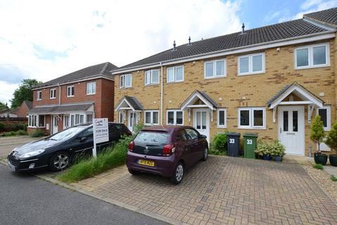 2 bedroom terraced house for sale - Woodcote Close, Peterborough, PE1