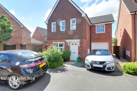 3 bedroom detached house for sale - Birchall Close, Nantwich