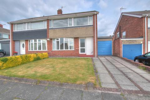 3 bedroom semi-detached house for sale - Alderney Gardens, Chapel House Estate, Newcastle upon Tyne, NE5