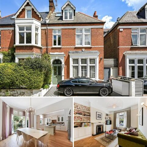 5 bedroom semi-detached house for sale - Marlborough Road, Chiswick, London, W4