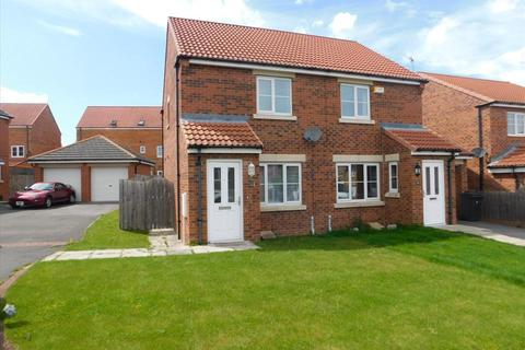 2 bedroom semi-detached house for sale - POPPY CLOSE, BISHOP CUTHBERT, Hartlepool, TS26 0YX