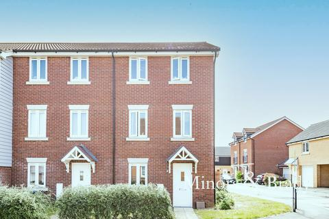 3 bedroom end of terrace house for sale - Woodpecker Way, Costessey