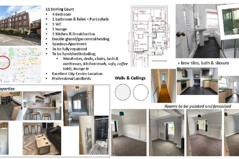 4 bedroom apartment to rent - Stirling Court, Edgbaston, Birmingham, West Midlands, B16