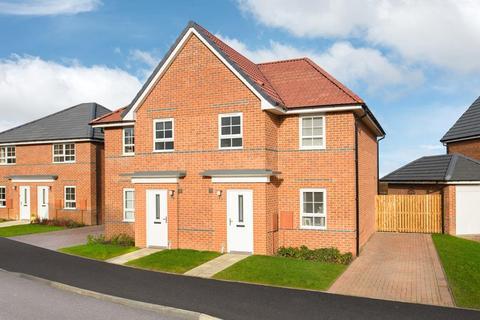 3 bedroom semi-detached house for sale - Plot 627, Palmerston at Burton Woods, Rosedale, Spennymoor, SPENNYMOOR DL16