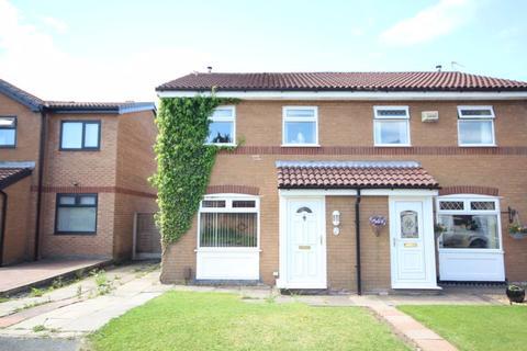 2 bedroom semi-detached house for sale - ECLIPSE CLOSE, Belfield, Rochdale OL16 2YU