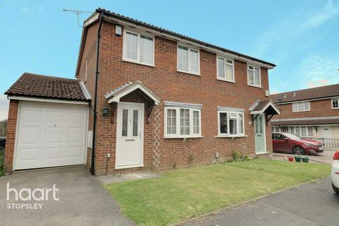 2 bedroom semi-detached house for sale - Cheslyn Close, Luton