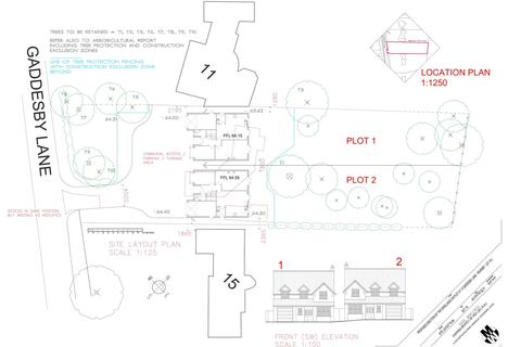 Plot for sale - Gaddesby Lane, Rearsby, Leicestershire