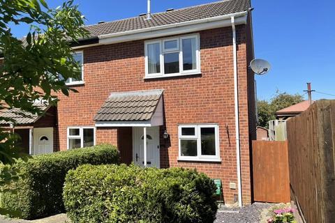 2 bedroom end of terrace house for sale - Kestrel Road, Melton Mowbray