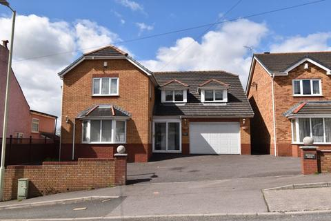 4 bedroom detached house for sale - Braeburn House, Heol Eglwys, Pen y Fai, Bridgend, CF31 4LY
