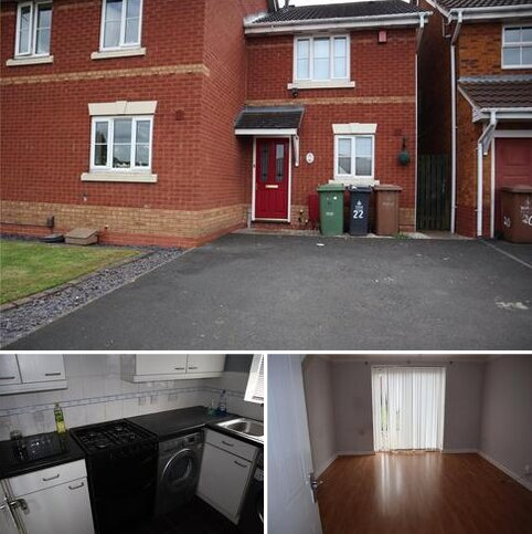 2 bedroom semi-detached house to rent - Burgh Way, Walsall, West Midlands, WS2