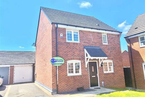 3 bedroom detached house for sale - Bonneville Road, Hinckley