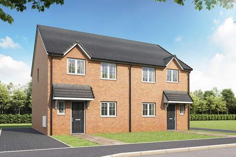 3 bedroom semi-detached house for sale - Plot 60, The Eveleigh at Walkmill Place, Walkmill Lane,Cannock,Staffordshire WS11