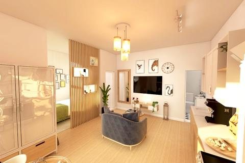 Studio to rent - Flat 6 8 Bank Street, Lincoln, LN2 1DZ