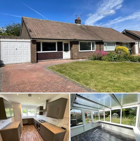 2 bedroom bungalow to rent - Haddon Green, Whitley Bay NE25 9QD.  * NEWLY REFURBISHED *