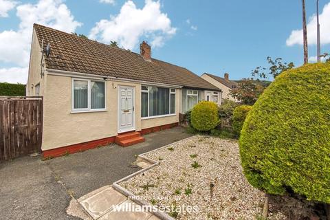 2 bedroom semi-detached bungalow for sale - Bangor Crescent, Prestatyn