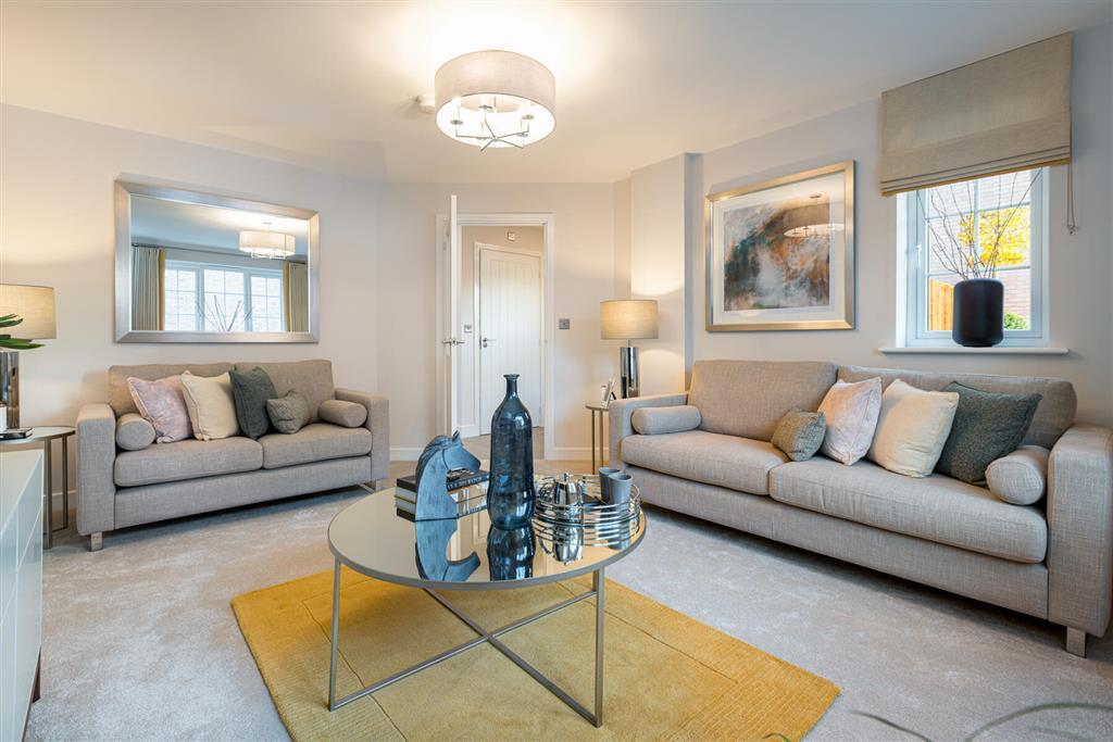 The Coltham, with space for all the family to relax in the lounge