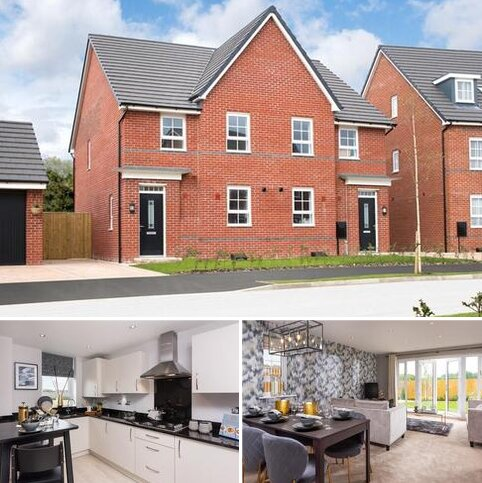 4 bedroom end of terrace house for sale - Plot 71, Oakham at Silk Waters Green, Moss Lane, Macclesfield, MACCLESFIELD SK11
