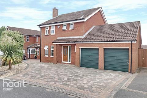 4 bedroom detached house for sale - Fordwells Close, Littleover