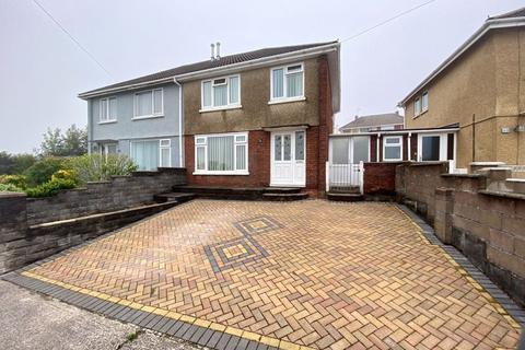 3 bedroom semi-detached house for sale - 46 Pen Parcau, Bettws, Bridgend CF32 8SS