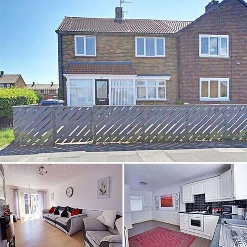 3 bedroom semi-detached house for sale - Dame Flora Robson Avenue, South Shields, Tyne And Wear