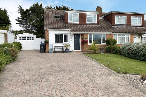 4 bedroom semi-detached house for sale - Thirlmere Crescent, Sompting, West Sussex, BN15