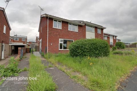 3 bedroom semi-detached house for sale - Fernleigh Gardens, Stafford