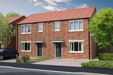 3 bedroom semi-detached house for sale - The Aiden, Oakfield Gardens, Oakerside, Peterlee, Durham