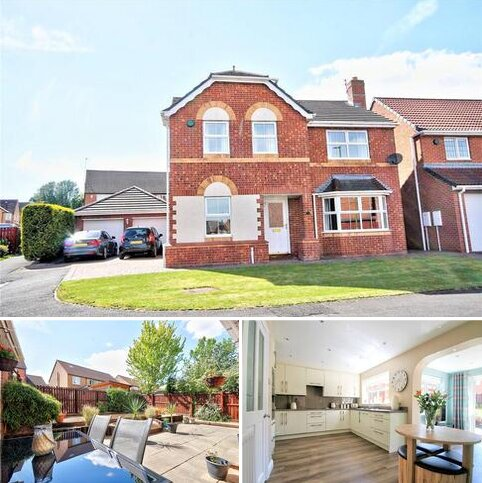 4 bedroom detached house for sale - Tantallon Court, Woodstone Village, Houghton le Spring, DH4