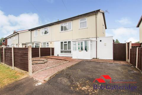 3 bedroom semi-detached house for sale - Cauldon Avenue, Bradwell, Newcastle