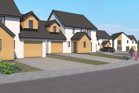 4 bedroom detached house for sale - Plot 6 The Kingsway, Castle Grange, Off Old Quarry Road, Ballumbie, Dundee