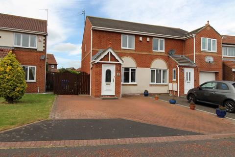 2 bedroom semi-detached house for sale - Inglewood Close, Blyth