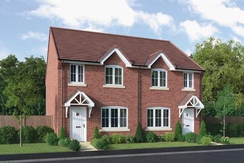 3 bedroom semi-detached house for sale - Plot 161, The Chawton, Charters Gate, Castle Donington