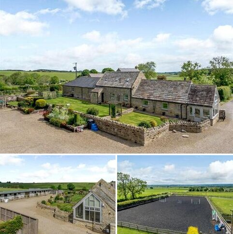 4 bedroom equestrian property for sale - South Fens Farm, Near Matfen, Stamfordham, Newcastle upon Tyne, NE18