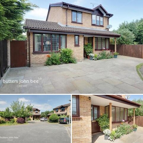 4 bedroom detached house for sale - Keswick Close, Crewe