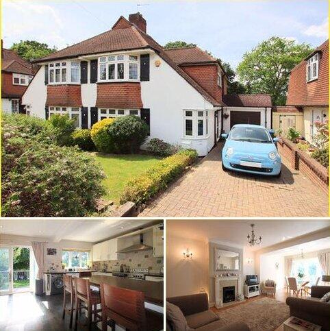 4 bedroom semi-detached house for sale - Hartland Way, Shirley