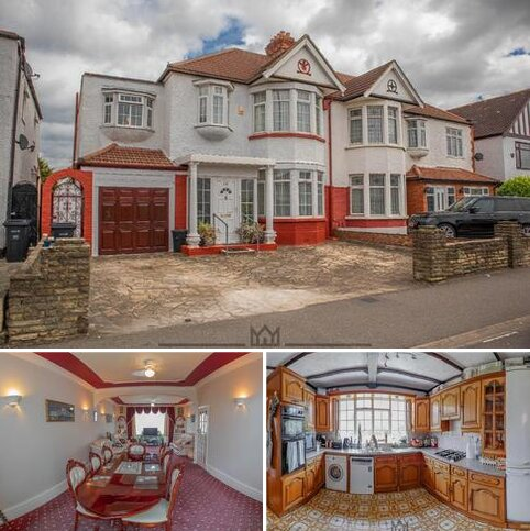 4 bedroom semi-detached house for sale - Woodford Avenue, Ilford, IG2 6XE