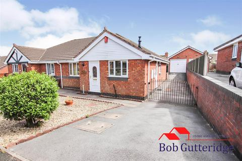 2 bedroom semi-detached bungalow for sale - Old Hall Drive, Bradwell, Newcastle