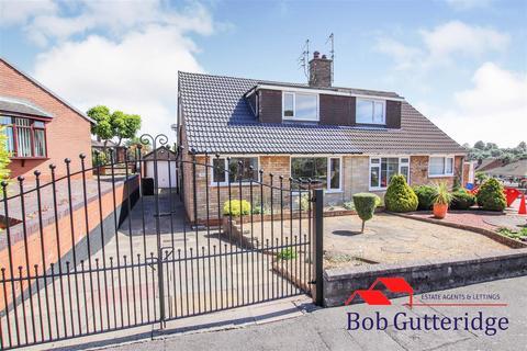 2 bedroom semi-detached bungalow for sale - Stubbsfield Road, Newcastle, Staffs