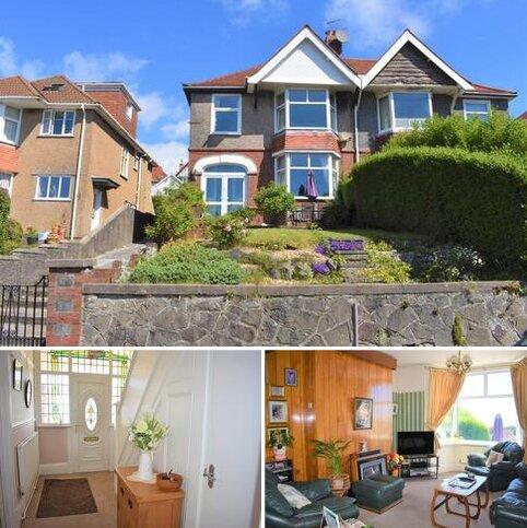 4 bedroom semi-detached house for sale - Lon Cedwyn, Sketty, Swansea