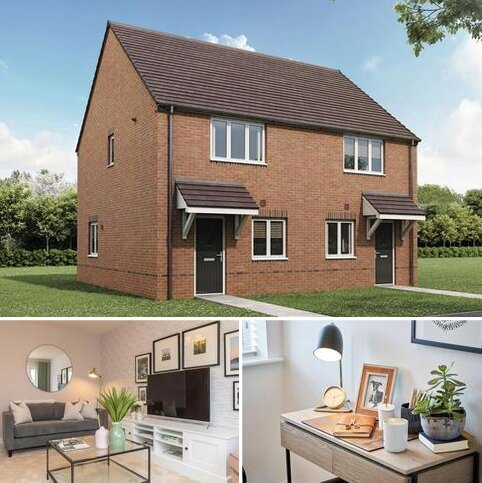 2 bedroom semi-detached house for sale - Plot 327, The Harcourt at The Priors, Europa Way CV34