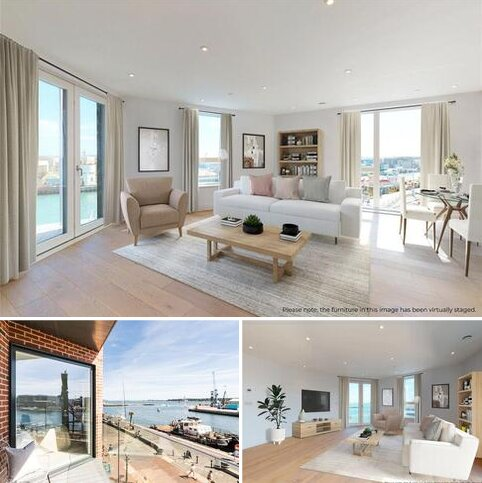 2 bedroom penthouse for sale - Flat 9 Harbour Lofts, High Street, Poole, Dorset, BH15
