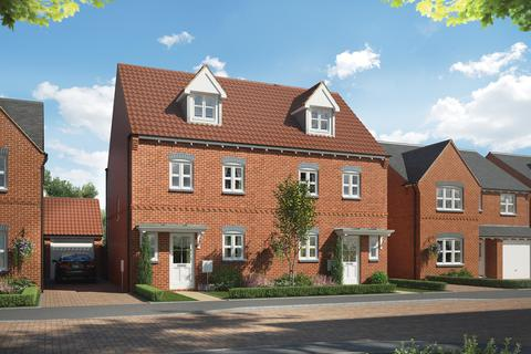 4 bedroom semi-detached house for sale - The Worcester at The Foresters at Middlebeck, Bowbridge Lane, Newark On Trent NG24