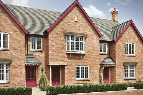 3 bedroom terraced house for sale - Plot 629, The Moore 4th Edition at Western Gate, LE19