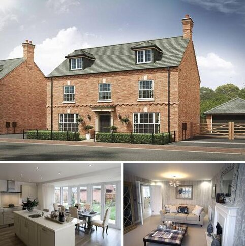 5 bedroom detached house for sale - Plot 407, The Leicester 4th Edition at Davidsons at Wellington Place, Davidsons at Wellington Place, Leicester Road LE16