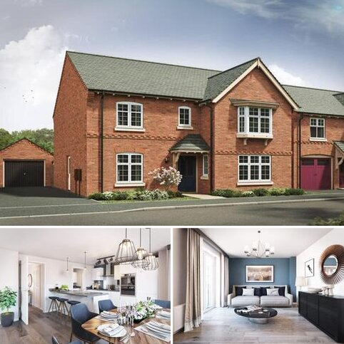 4 bedroom detached house for sale - Plot 77, The Darlington B at The Wheatfields, Long Street Road, Hanslope MK19