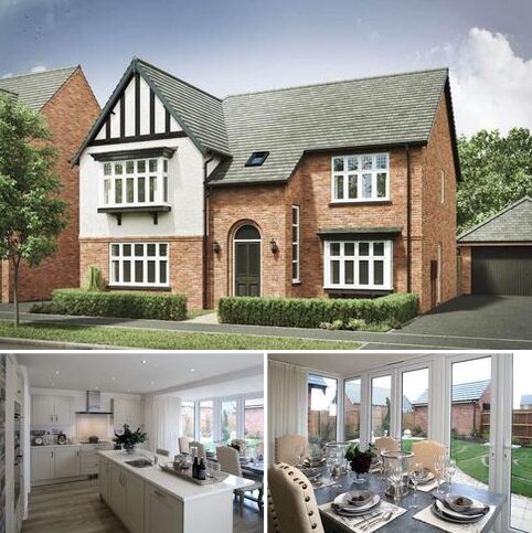 5 bedroom detached house for sale - Plot 2, The Chesterfield 4th Edition at Sanders Fields, Northampton Road NN10