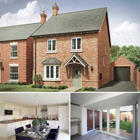 4 bedroom detached house for sale - Plot 135, The Lincoln 4th Edition at Grange View, Grange Road, Hugglescote LE67