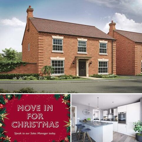 4 bedroom detached house for sale - Plot 79, The Barnwell 4th Edition at Davidsons at Lubenham View, Davidsons at Lubenham View, Harvest Road, Off Lubenham Hill LE16