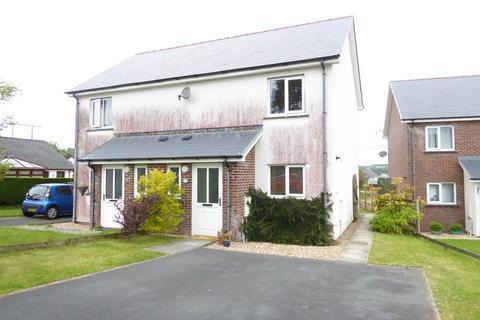 2 bedroom semi-detached house for sale - Cwrt Deri, Cwmann, Lampeter, SA48